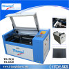 Tischplatten-CO2 50W Laser-Stich-Ausschnitt-Maschineengraver-Scherblock USB-guter Portpreis mit CE/FDA 600*400mm