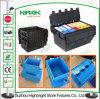 caixa do empacotamento plástico de recipiente plástico de 600*400*240mm