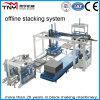 Block automático Making Machinery Production Line (sistema de empilhamento fora de linha)