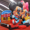 Magisches Mickey Minnie Inflatable Jumping Castle Bouncer für Sale
