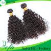 Cabelo ultramarino da qualidade nenhuma trama humana do cabelo de Remy do processo químico