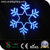 Luz ao ar livre nova do floco de neve do Natal do diodo emissor de luz da decoração