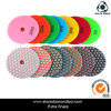 4  diamante Dry Polishing Pads per General Stone Floor