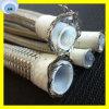 Le fil d'acier de boyau de teflon R14 tressé a couvert le boyau de PTFE