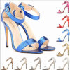Sandalias de las mujeres del diseño simple del cocodrilo