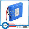 блок батарей Li-иона 1s4p 18650 3.7V 10400mAh