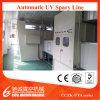 Автоматические UV линия покрытия брызга политуры/лакировочная машина вакуума