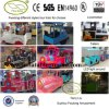 Fwulong Electric Trackless Tourist Train para Sale