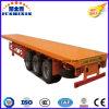 3 Wellen-Plattform-Flachbettbehälter-Transport-LKW-halb Schlussteile