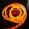 La lumière horizontale ronde IP65 de corde du fil chaud LED de la vente 3 imperméabilisent, éclat superbe