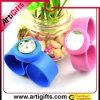 Montre respectueuse de l'environnement de bracelet de silicones
