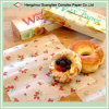 Alimento Grade Printed Wax Paper en Sheets para Food Packing