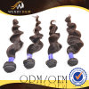 7A를 가진 최상 Full Cuticle Natural Color 100%년 Virgin Human Hair