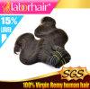 Обрабатываемый оптовой ценой уток человеческих волос Remy