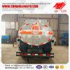 Euro 3 de Rechtse Aandrijving van de Emissie de Olie van 5cbm - van 10cbm tankt Tankwagen bij