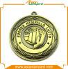 rétro médaille de récompense du modèle 3D avec votre propre logo