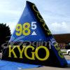 Parete gonfiabile di marchio del triangolo (BMLW40)
