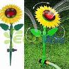 庭の水まきの潅漑の花のスプリンクラー