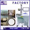 Machine d'inscription de laser de fibre pour la marque de code barres