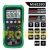 Autoranging professionnel Digital Multimeter avec Engine Analyzer (MS8239D)