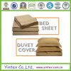 Jogos da folha de cama do algodão do projeto do hotel
