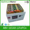 48V 165ah LiFePO4 para la Aplicación Telecom