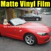 Pellicola rossa opaca del vinile del cambiamento di colore dell'involucro dell'automobile