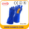Корова Сплит кожа сварки безопасности Рабочие перчатки (11115)