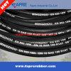 Multi Spiraalvormige Hydraulische Slang, Draad Gevlechte RubberSlang, DIN 4sp