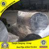 ASME B16.11 ASTM A105 90度の炭素鋼の肘