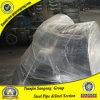 ASME B16.11 ASTM A105 120度の炭素鋼の肘
