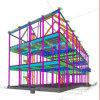 De industriële Fabriek die van de Structuur van het Staal de PrefabBouw van het Staal bouwen