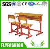 木のDouble School Student DeskおよびChair (SF-20D)