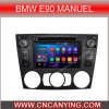 Android puro 4.4.4 Car GPS Player para BMW E90 Manuel con CPU 1g RAM 8g Inland Capatitive Touch Screen (AD-6933) de Bluetooth A9