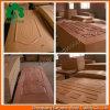 Pelle del portello del MDF modellata impiallacciatura di legno naturale della cenere