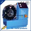 Uniflexの油圧ゴム製ホースのひだが付く機械