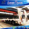 Hochleistungs80 Tonnen-niedrig Flachbett-halb Schlussteil
