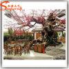 庭の装飾の人工的なモモの花の木