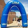 Arco di pubblicità blu gonfiabile di disegno speciale su ordinazione (BMAE120)