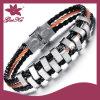 2015 stlb-003 Fashion Rock Clásico pulsera de cuero