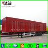 Hellooのブランドのアフリカのための頑丈な塀の貨物トレーラー