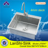 шар Topmount Sink Single палубы 4mm
