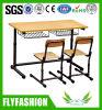 販売(SF01D)のための学校家具の倍の表および椅子セット