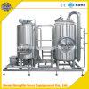 equipo micro de la fabricación de la cerveza del acero inoxidable 500L, sistema de la fabricación de la cerveza