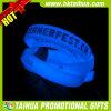 Fulgor azul feito sob encomenda no bracelete escuro do silicone (TH-band099)