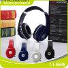 Auscultadores Foldable do estéreo dos auriculares do auscultadores confortável sem fio de Bluetooth