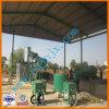 Usine utilisée de régénération de pétrole de moteur à l'essence diesel normale