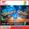 Король 3 машина видеоигры охотника рыб шлица забастовки тигра океана/леопарда