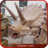 Pista de tamaño natural del dinosaurio de la alta simulación del equipo del patio