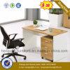 Melamin-Büro-Möbel-Kirschstab-Computer-Schreibtisch (HX-6M127)